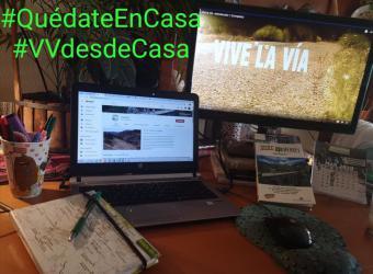Disfruta de las Vías Verdes en modo virtual inicio articulos