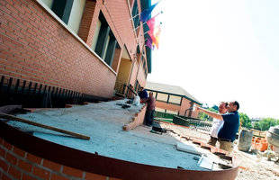 Obras de mejora en colegios públicos de Pozuelo