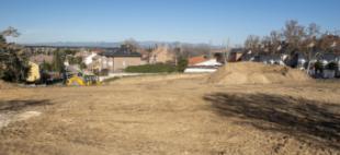 El Ayuntamiento acondiciona y ajardina el parque Ramón y Cajal que contará con más de 3.500 m2 de superficie