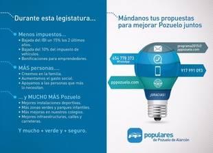 El Partido Popular de Pozuelo presenta sus canales de participación