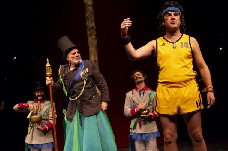 Héctor Alterio, Gabino Diego, Mario Gas y Vicky Peña, protagonistas de los escenarios de la Comunidad de Madrid para este fin de semana