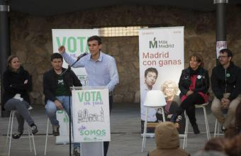 Somos Pozuelo anima a los vecinos a 'votar con ganas' para echar al PP del gobierno 36 años después