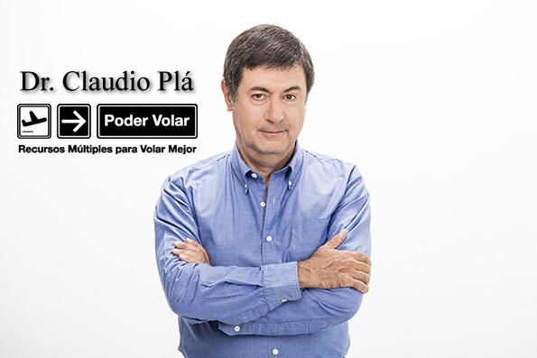 El Dr. Claudio Plá Alem, especialista en aerofobia, presenta en España 'Desafiando el miedo a volar en avión'