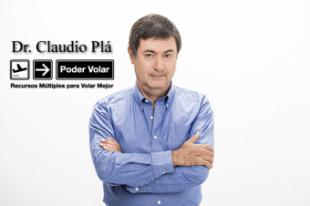 El Dr. Claudio Plá Alem, especialista en aerofobia, presenta en España
