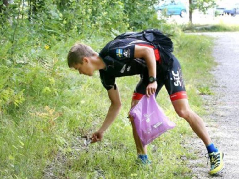 Llega a España el Plogging: recoger residuos haciendo deporte