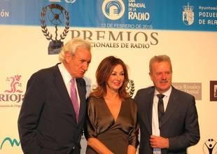 Luis del Olmo, Ana Rosa Quintana y Manuel Campo Vidal