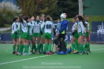 El Club Hockey Pozuelo con el ánimo por las nubes gracias a su primera división femenina