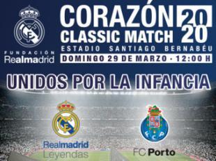 Entradas.com repite como canal de venta exclusivo del Corazón Classic Match 2020
