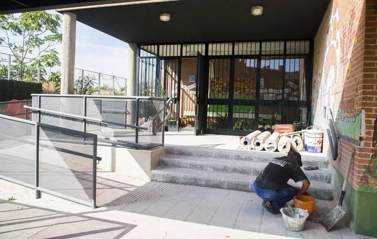 Los colegios públicos de Pozuelo, a punto