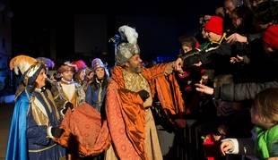 Cabalgata de Reyes en Pozuelo