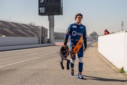 Carlos Sainz Jr busca revancha en China