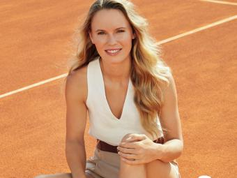 Caroline Wozniacki apoya la Fundación Arthritis de Clarins