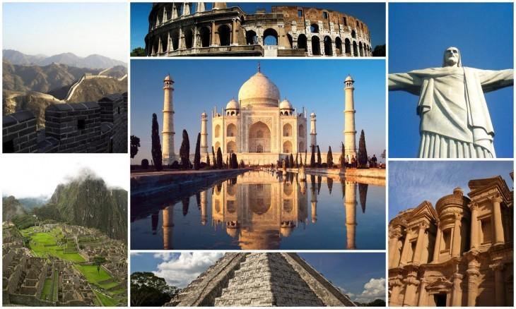 Vuelta al mundo: Descubre las siete maravillas del mundo moderno