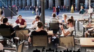 Más de 855.000 turistas visitaron la ciudad de Madrid en julio