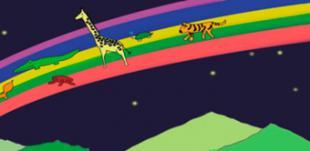 Presentación y narración del libro: Un viaje de colores