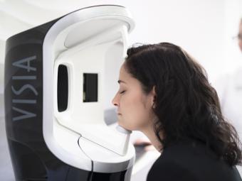 Visia, el método de diagnóstico en 3D de Clinique La Prairie