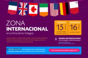 La Feria de los colegios de Madrid presenta su mayor oferta educativa de estudios en el extranjero