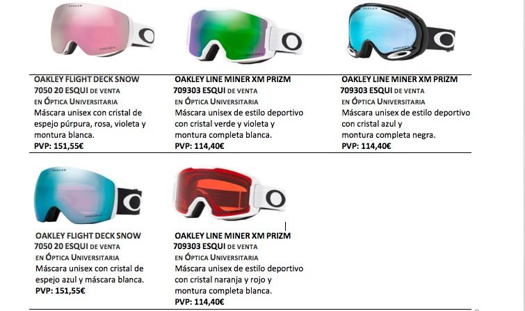 No ValenEn Esquiar Las Gafas Para Todas Pozuelo MVpjLqSUzG